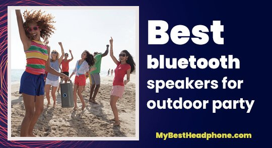 bluetooth speakers for outdoor party