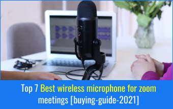 Best wireless microphone for zoom meetings